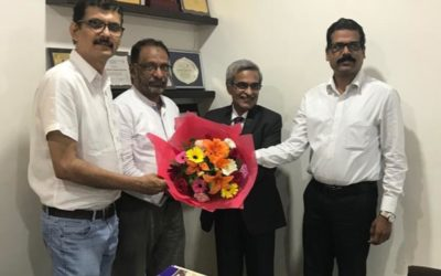Sri MJ Nagaraj ,GM, Bank of Baroda visited KCCI