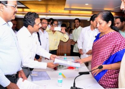 Meeting with Smt.Nirmala Sitharaman