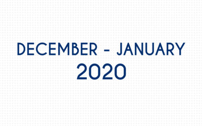 DECEMBER 2019 – JANUARY 2020