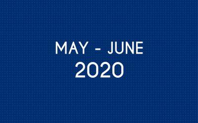 MAY 2020 – JUNE 2020