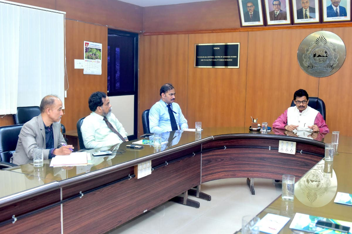 Hon'ble Vice Chancellor Mangalore University
